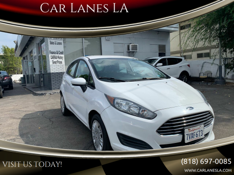 2016 Ford Fiesta for sale at Car Lanes LA in Valley Village CA