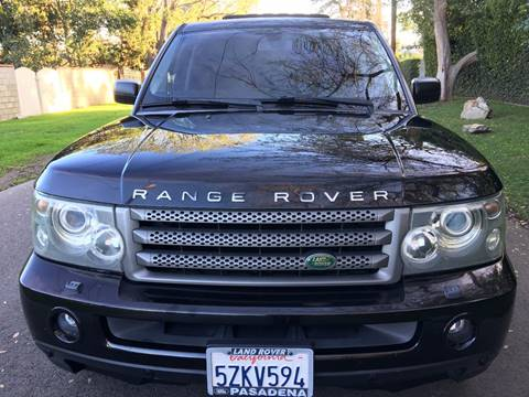 2007 Land Rover Range Rover Sport for sale at Car Lanes LA in Valley Village CA