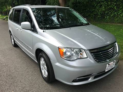 2012 Chrysler Town and Country for sale at Car Lanes LA in Valley Village CA