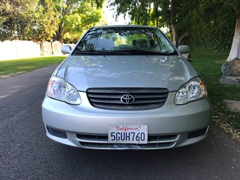 2004 Toyota Corolla for sale at Car Lanes LA in Glendale CA