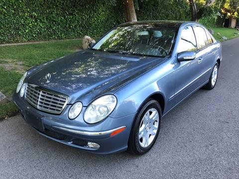 2004 Mercedes-Benz E-Class for sale at Car Lanes LA in Valley Village CA