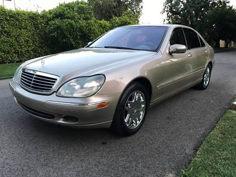 2002 Mercedes-Benz S-Class for sale at Car Lanes LA in Valley Village CA