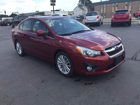 2013 Subaru Impreza for sale at Carney Auto Sales in Austin MN