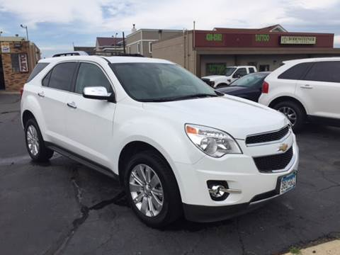 2011 Chevrolet Equinox for sale at Carney Auto Sales in Austin MN