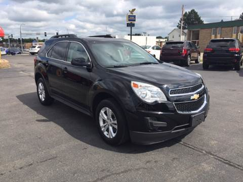 2012 Chevrolet Equinox for sale at Carney Auto Sales in Austin MN