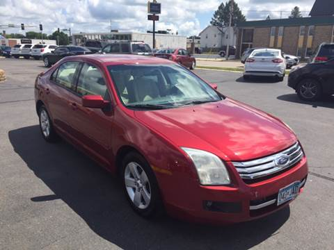 2007 Ford Fusion for sale at Carney Auto Sales in Austin MN