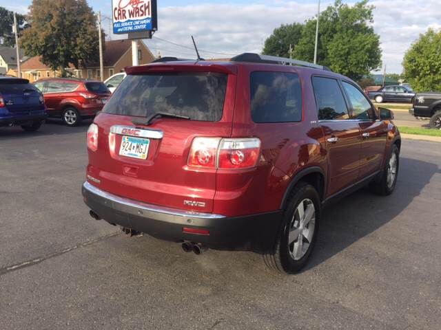 2011 GMC Acadia for sale at Carney Auto Sales in Austin MN