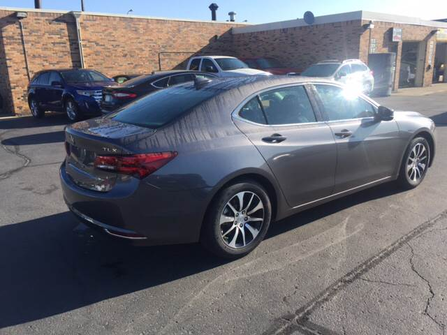 2017 Acura TLX for sale at Carney Auto Sales in Austin MN
