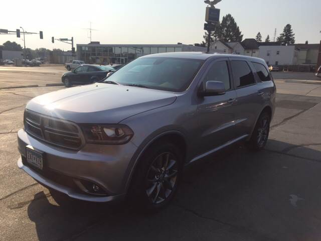 2015 Dodge Durango for sale at Carney Auto Sales in Austin MN
