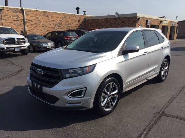 2016 Ford Edge for sale at Carney Auto Sales in Austin MN