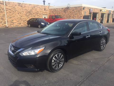 2016 Nissan Altima for sale at Carney Auto Sales in Austin MN
