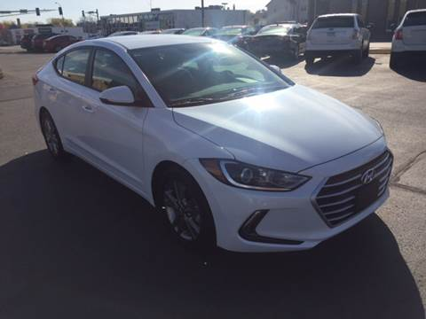 2017 Hyundai Elantra for sale at Carney Auto Sales in Austin MN