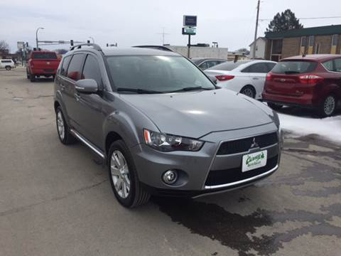 2013 Mitsubishi Outlander for sale at Carney Auto Sales in Austin MN