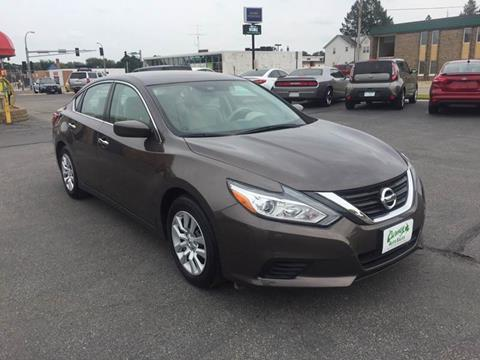 2017 Nissan Altima for sale at Carney Auto Sales in Austin MN