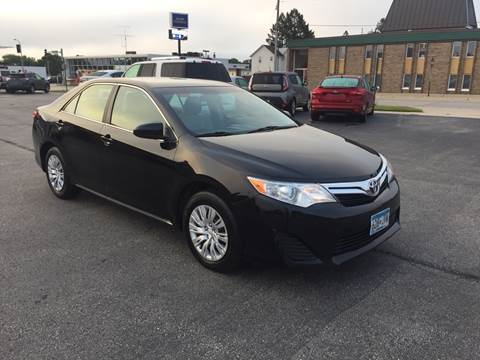 2012 Toyota Camry for sale at Carney Auto Sales in Austin MN