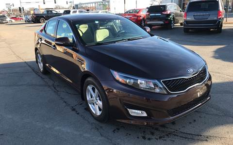2015 Kia Optima for sale at Carney Auto Sales in Austin MN