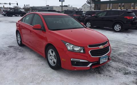 2015 Chevrolet Cruze for sale at Carney Auto Sales in Austin MN
