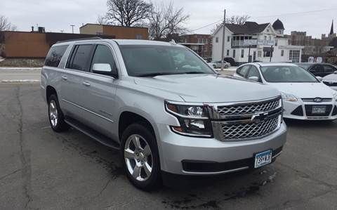 2015 Chevrolet Suburban for sale at Carney Auto Sales in Austin MN