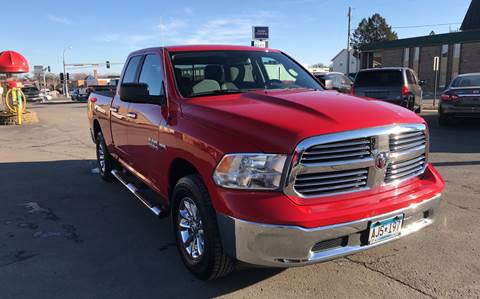 2015 RAM Ram Pickup 1500 for sale at Carney Auto Sales in Austin MN
