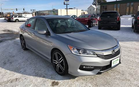 2016 Honda Accord for sale at Carney Auto Sales in Austin MN