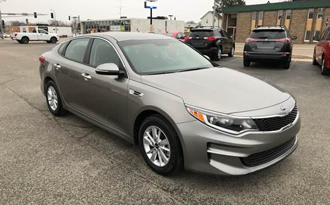 2016 Kia Optima for sale at Carney Auto Sales in Austin MN