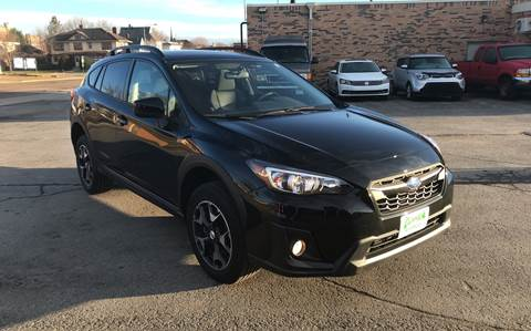 2018 Subaru Crosstrek for sale at Carney Auto Sales in Austin MN
