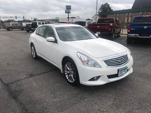 2013 Infiniti G37 Sedan for sale at Carney Auto Sales in Austin MN