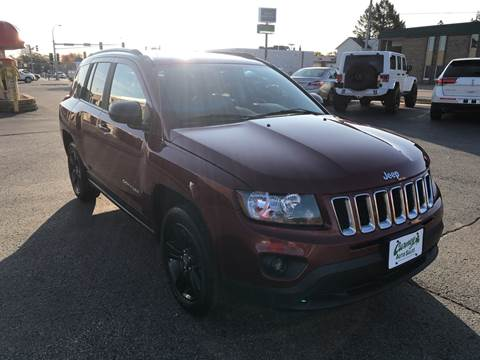 2016 Jeep Compass for sale at Carney Auto Sales in Austin MN
