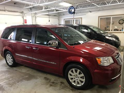2012 Chrysler Town and Country for sale at Carney Auto Sales in Austin MN