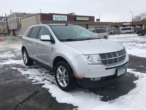 2010 Lincoln MKX for sale at Carney Auto Sales in Austin MN