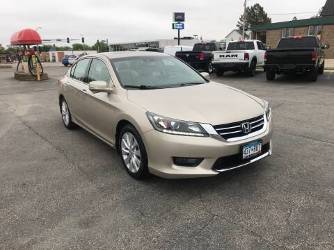 2015 Honda Accord for sale at Carney Auto Sales in Austin MN