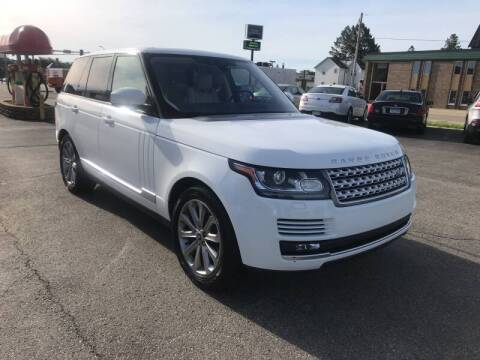 2017 Land Rover Range Rover for sale at Carney Auto Sales in Austin MN