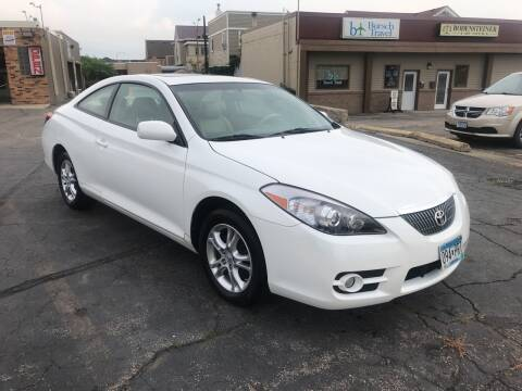 2008 Toyota Camry Solara for sale at Carney Auto Sales in Austin MN