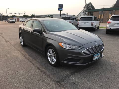 2018 Ford Fusion for sale at Carney Auto Sales in Austin MN