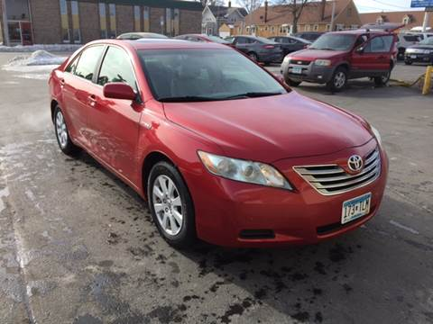 2009 Toyota Camry Hybrid for sale at Carney Auto Sales in Austin MN
