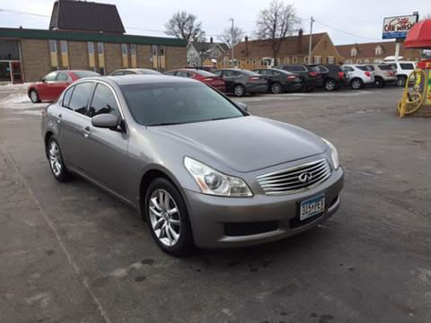 2008 Infiniti G35 for sale at Carney Auto Sales in Austin MN