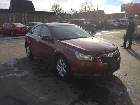 2012 Chevrolet Cruze for sale at Carney Auto Sales in Austin MN