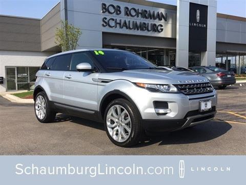 2014 Land Rover Range Rover Evoque for sale in Schaumburg, IL