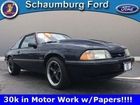 1989 Ford Mustang for sale in Schaumburg, IL