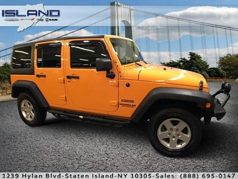 2012 Jeep Wrangler Unlimited for sale in Staten Island NY