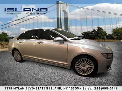 2017 Lincoln MKZ for sale in Staten Island NY