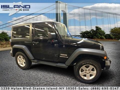 2013 Jeep Wrangler for sale in Staten Island NY