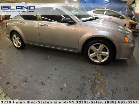 2013 Dodge Avenger for sale in Staten Island NY