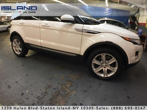 2015 Land Rover Range Rover Evoque for sale in Staten Island NY