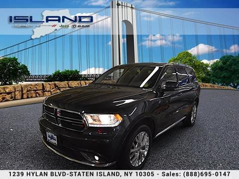 Island Chrysler Dodge >> Dodge Durango For Sale In Staten Island Ny Island
