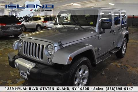 Staten Island Jeep >> 2015 Jeep Wrangler Unlimited For Sale In Staten Island Ny