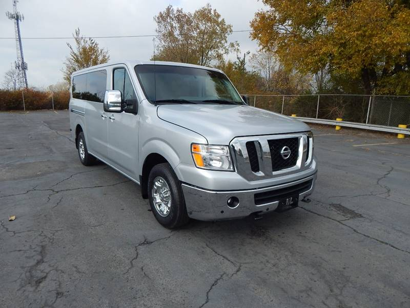 Nissan Nv Passenger For Sale >> 2015 Nissan Nv Passenger 3500 Hd Sl In Cleveland Oh City Auto