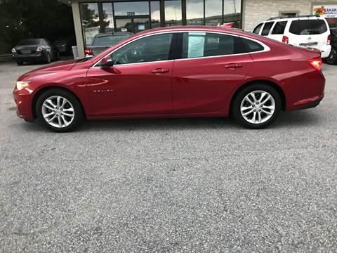 2016 Chevrolet Malibu for sale in Portsmouth, VA