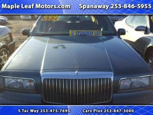 1996 Lincoln Town Car for sale in Tacoma, WA