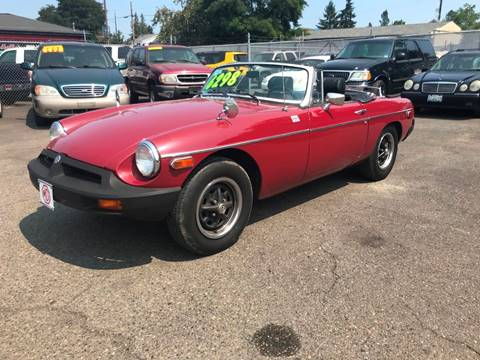 1976 MG MGB for sale in Spanaway, WA